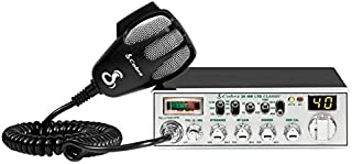 Cobra 29NW Professional CB Radio - Instant Channel 9/19, Full 40 Channels, SWR Calibration, Nightwatch Electroluminescent Illumination Display