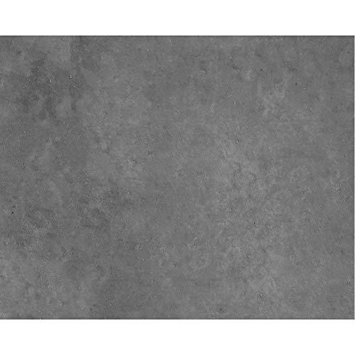 PrintYourHome Fliesenaufkleber für Küche und Bad   Dekor Beton Dunkelgrau   Fliesenfolie für 20x25cm Fliesen   8 Stück   Klebefliesen günstig in 1A Qualität