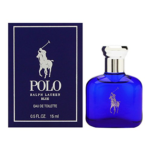 Ralph Lauren Polo Blue Eau de Toilette Splash/Dab-On, 0.5 Ounce