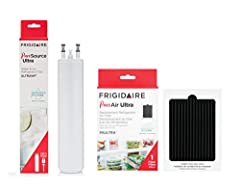 Recommended use: Replacement fridge filters; Replace water and air filter every 6 months for best results Genuine replacement part: Part made specifically to be compatible with Frigidaire refrigerators Certifications: NSF Standard 42 certified to red...