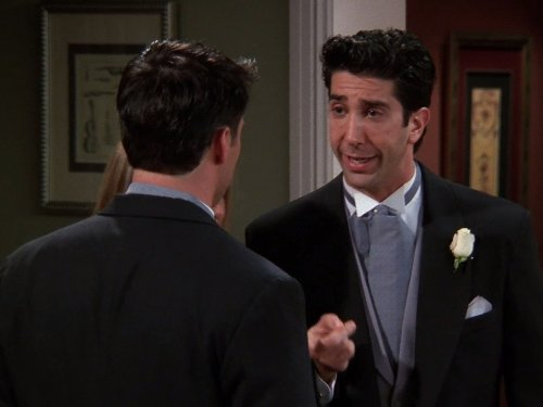 The One After Ross Says Rachel