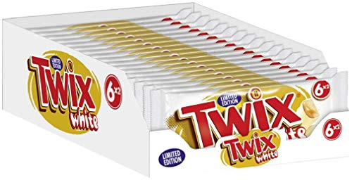 Twix White 6er, 18er Pack (18 x 6 Riegel)