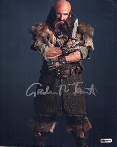 Graham McTavish as Dwalin 8 in x 10 in The Hobbit autograph sm