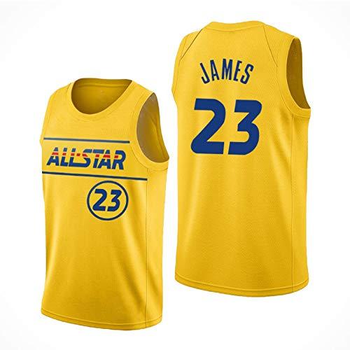 XXJJ All-Star James USA # 23 Lakers 2021 - Sudadera sin mangas para hombre, diseño del Capitán de baloncesto