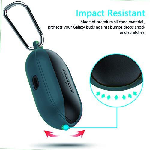 Body-Jean Indigo//Top-Peach - 2019 elago Silicone Case Designed for Samsung Galaxy Buds Plus Case 2020 // Galaxy Buds Case