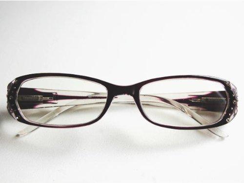 Reading glasses リーディンググラス 老眼鏡 YGF40 Purple +1.5