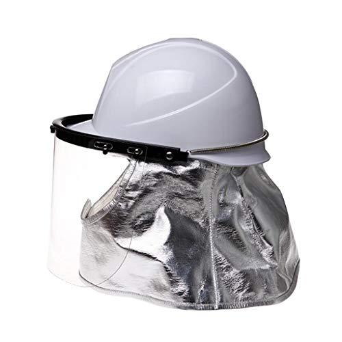 MXZ Casco De Seguridad, Obrero Casco De Seguridad Sitio De Construcción Casco De Seguridad, Máscara Ignífuga Resistencia A Altas Temperaturas