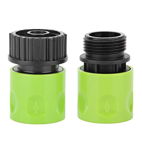 """2pcs 3/4"""" Male Female Thread Hose Tap Connector Garden Water Pipe Adapter"""