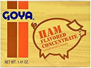 Goya Ham Flavored Concentrated Seasoning 1.41oz | Sabor a Jamon (Pack of 03)