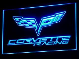Corvette LED Neon Sign Light Blue