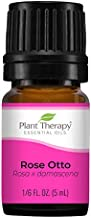 Plant Therapy Rose Otto Essential Oil 5 mL (1/6 oz) 100% Pure, Undiluted, Therapeutic Grade
