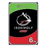 Seagate IronWolf NAS ST6000VN001 - Disco Duro de 6 TB, 3,5 Pulgadas, SATA, 6 GB/s, 256 MB, 5400 r.p.m. (Reacondicionado)