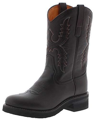 Sendra Boots Damen Cowboystiefel 11615 Pacific Westernreitstiefel Lederstiefel Braun 38 EU