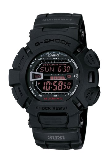 Casio G-Shock G9000MS-1CR Men's Military Black Resin Sport Watch