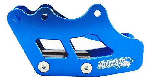 Outlaw Racing OR2800BU Rear Aluminum Chain Guide Slider Guard Swingarm Protector Guard (Blue) - Fits Yamaha YZ250F YZ450F 2007-2015