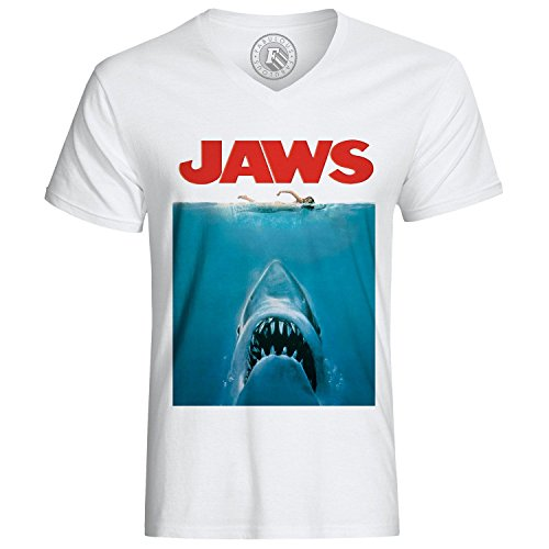 T-Shirt Jaws White Sharks Sea