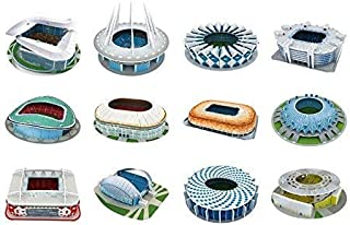 Set of 12, 2018 FIFA WORLD CUP RUSSIA 3D Jigsaw Puzzle 305pcs buy This and get another 2 different puzzle free