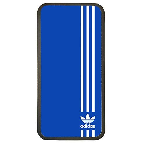 ELHURON Carcasas De Moviles Fundas De TPU Compatible con El Modelo de Movil Samsung Galaxy A5 2016 Adidas Color Azul Deporte