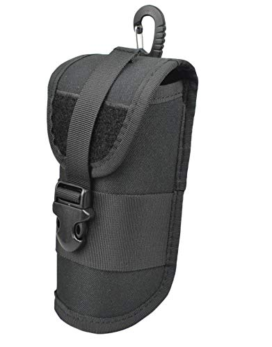 Sunglasses Hard Case Ultra Light Tactical Eyeglasses sturdy Carrying Case with Belt Clip (Black)