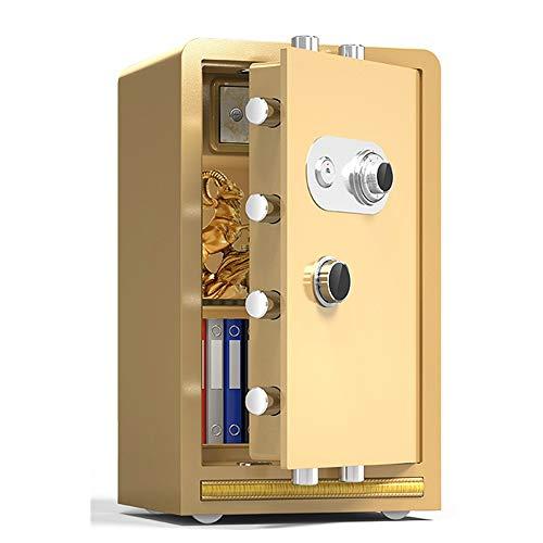 CaoQuanBaiHuoDian kan op de vloer of aan de muur niet toegestaan mechanische wachtwoord Home Business Office 60/70/80 cm hoog veilige nachtkastje volledig stalen kast anti-diefstal kluis