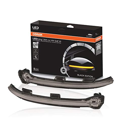 Osram LEDDMI 5G0 BK S LEDriving dynamischer LED Spiegelblinker - Black Edition, Set of 2