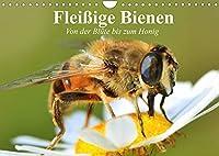 Fleissige Bienen. Von der Bluete bis zum Honig (Wandkalender 2022 DIN A4 quer): Emsige Arbeiterinnen und Produzentinnnen von wertvollem Honig (Geburtstagskalender, 14 Seiten )