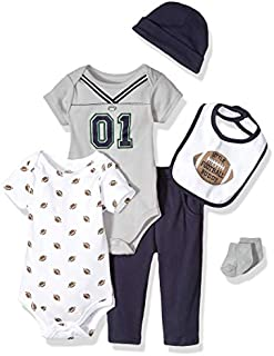 Hudson Baby Baby Clothing, 6-Piece Set