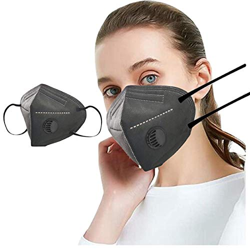 Koippimel 10pcs, Disposable Face_Mask with Breathing Valve for Adults, Breathable_Masks, 5-Layers High Filtration Non-Woven for Women Men Full Protection, 1123 Style_027