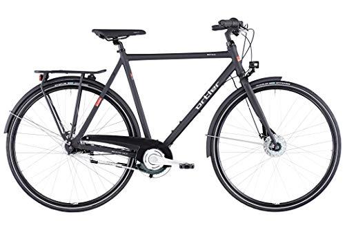 Ortler Motala Black matt Rahmenhöhe 57cm 2020 Cityrad