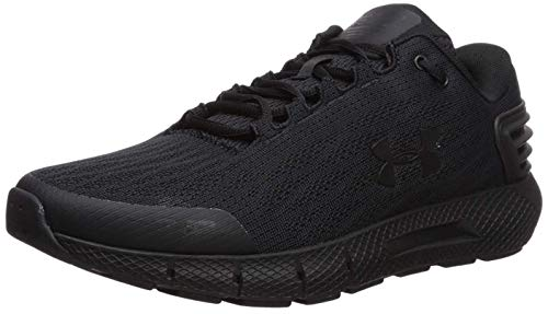 Under Armour Men's Charged Rogue Running Shoe, Black/Black, 11 X-Wide