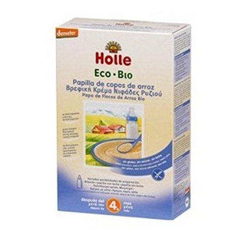 Holle Papilla de Crema Arroz (+ 4 meses) - 250 gr