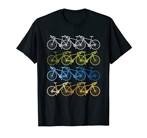 Vintage Fahrräder Biker Retro Fahrrad Radsport Xmas Geschenk T-Shirt
