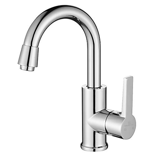Homelody 360° Drehbar Wasserhahn Bad Armatur Waschtischarmatur Einhebel Mischbatterie