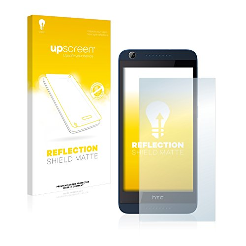 upscreen Entspiegelungs-Schutzfolie kompatibel mit HTC Desire 626G Dual – Anti-Reflex Bildschirmschutz-Folie Matt