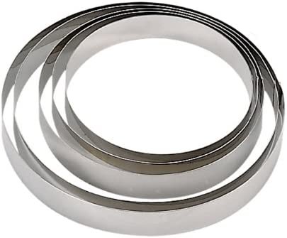 Round Circle 20cm x 4,5cm 3989.20 De Buyer Stainless steel