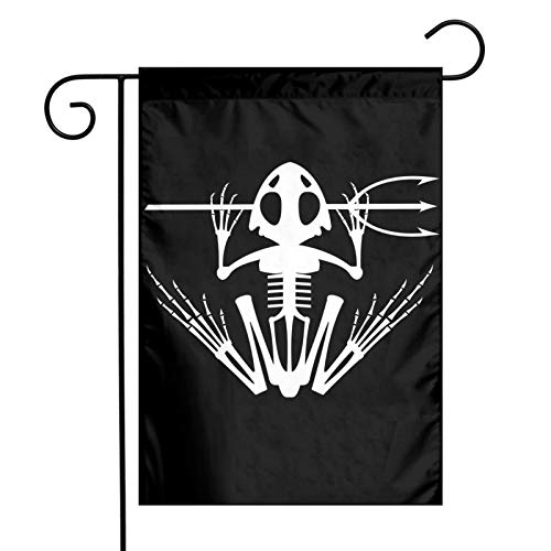 Us Navy Seal Bone Frog Udt Garden Flag 12×18 Feet Yard Double Sided Printing Flags Home Decor Banner Foot Polyester Fade Resistant Flag Inch for Yard Farmhouse