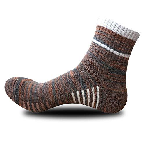TIGERROSA Beste 3 paar / hoge kwaliteit mannen verticale strepen sokken casual business korte sokken mannelijk eenkleurig gestreept ademende katoenen sokken oranje