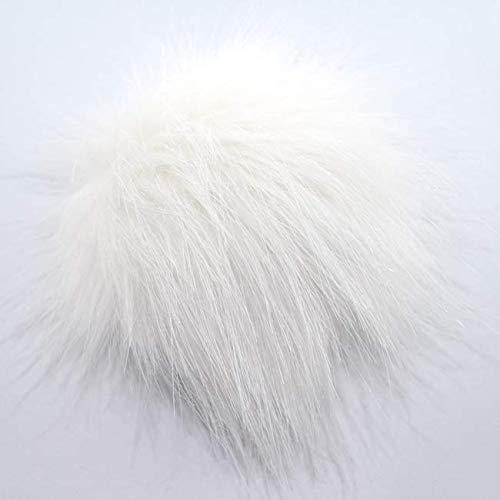 Unbekannt Pro Lana Fell Pompon, Acryl, White Snow, 12-14 cm