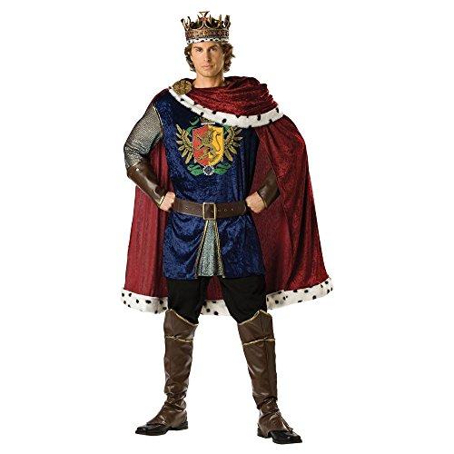 Para disfraces en personaje 1063_M Elite Noble rey disfraz para ...