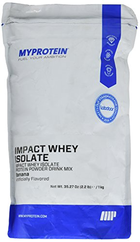 Impact Whey Isolate Protein Powder, Banana