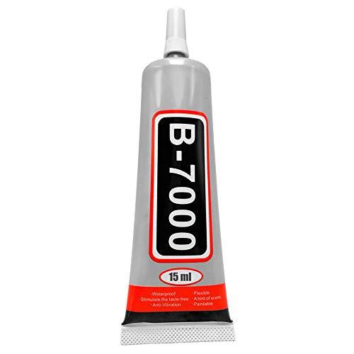 OcioDual Pegamento Universal Adhesivo B-7000 15ml para Pegar Pantalla LCD Tactil Moviles Tablets Industrial Joyas Ceramica DIY
