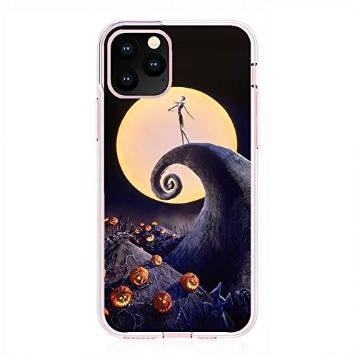X-Art Transparent Fundas Slim Liquid Flexible Case Back Cover For Apple iPhone 11 Pro-Christmas-Nightmare Jack-Skellington 6