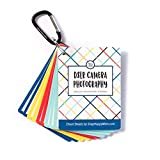 DSLR Cheat Sheet Cards for Canon, Nikon and Sony Cameras - Plastic Quick Reference Photography Cards | Camera Settings, Exposure & Manual Mode (Bright)