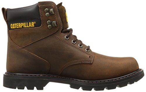 Caterpillar Men's Second Shift Work Boot,Dark Brown,10.5 M US