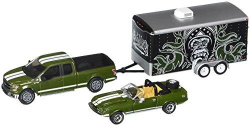 Greenlight 1: 64 Hitch & Tow Hollywood - Gas Monkey Garage 3Piece Set Diecast Vehicle