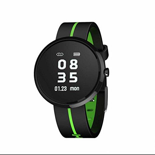 Activity Tracker Orologio Fitness Tracker Cardiofrequenzimetro Braccialetto con Monitoraggio di frequenza cardiaca / GPS / Step Counter / Sleep Monitor Usato per camminare o correre con Touch Screen Fotocamera per Apple/iOS
