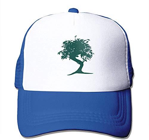 Voxpkrs Bonsai Watercolor Adjustable Mesh Trucker Baseball Cap Men Or Women Dad Hat asdfghjklzxc5991