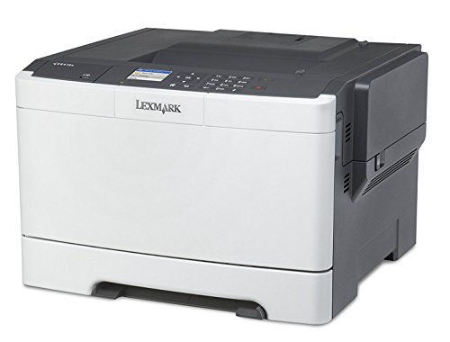 Lexmark CS417dn Colour 2400 x 600DPI A4 - laser/LED printers (2400 x 600 DPI, 75000 pages per month, PCL 5c,PCL 6,PDF 1.7,PPDS,PostScript 3,XPS, Laser, 800-6000 pages per month, 3500 pages)