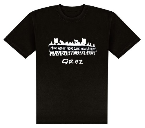 World of Football T-Shirt Meine Heimat.Graz - L