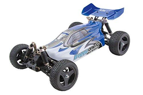 XciteRC 30321000 - ferngesteuertes RC Auto One10 Buggy 4WD Brushless, blau
